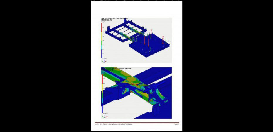 Eirik Raude - Fairing Platform design for integration with BOP Carrier - DNV Approved
